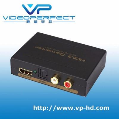 唯普菲特 (HDLR13) HDMI音频分离器HDMI TO HDMI+ Audio (SPDIF+R/L)信号转换器