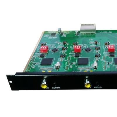 思音SY-4AV-OUT 无缝矩阵4路CVBS及音频(AV)加强型输入卡,高清混合矩阵插卡切换器CCC认证产品